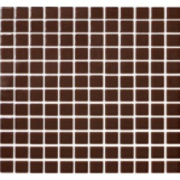Imagem de Pastilha de Vidro Brilhante 2,3x2,3cm Marrom Escuro - 4ML036-CA - Jolie