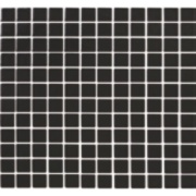 Pastilha de Vidro Brilhante 2,3x2,3cm Preto - 4ML037-CA - Jolie