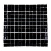 Imagem de Pastilha de Vidro Brilhante 2,3x2,3cm Preto - 4ML037-CA - Jolie