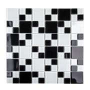 Pastilha de Vidro Brilhante 2,3x2,3cm Branco - 4ML006-CC - Jolie
