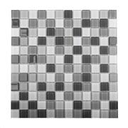 Imagem de Pastilha de Vidro Brilhante 2,3x2,3cm Cinza - 4ML003-CA - Jolie