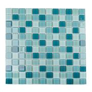 Pastilha de Vidro Brilhante 2,3x2,3cm Branco - 4ML023-CA - Jolie