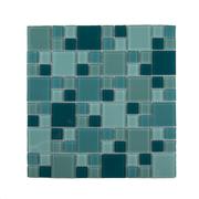 Imagem de Pastilha de Vidro Brilhante 2,3x2,3cm Branco - 4ML023-CC - Jolie