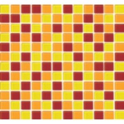Imagem de Pastilha de Vidro Brilhante 2,3x2,3cm Amarelo - 4ML019-CA - Jolie