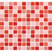 Imagem de Pastilha de Vidro Brilhante 2,3x2,3cm Vermelho - 4ML017-CA - Jolie