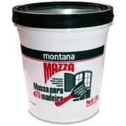 Massa Para Madeira Mazza - Verde Madeira Tratada - Balde 1,600Kg - Montana