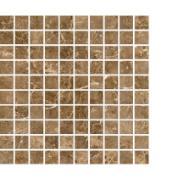 Imagem de Mosaico Marmo Imperatore Polido Tipo A 30x30cm - Livre