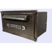 Imagem de Porta-cartas Alumínio 14x27 cm Bronze - R&B