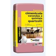 Argamassa ACII Varandas/Quintais 20kg - Quartzolit