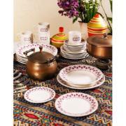 Aparelho de Jantar de Cerâmica 20 Peças Roxo - Biona