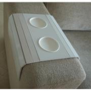 Imagem de Esteira para Sofá Branca em MDF - TFP6219 - Top Flex