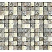 Imagem de Pastilha de Vidro Craquelada 2,5x2,5cm Branco - MC002B - Jolie