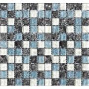 Pastilha de Vidro Craquelada 2,5x2,5cm Branco - MC004A - Jolie