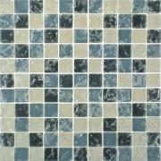 Imagem de Pastilha de Vidro Craquelada 2,5x2,5cm Branco - MC004B - Jolie