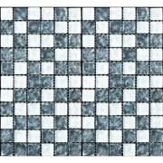 Pastilha de Vidro Craquelada 2,5x2,5cm Branco - MC007B - Jolie