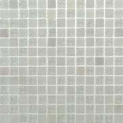 Pastilha de Vidro Craquelada 1,5x1,5cm Branco - MC001H - Jolie