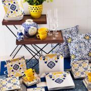 Imagem de Aparelho de Jantar de Porcelana 20 Peças Azul escuro - Oxford