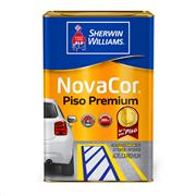 Tinta Acrílica Fosco Premium 18L - Cinza - Novacor Sherwin Willians