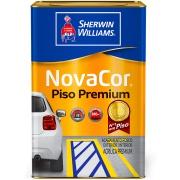 Tinta Acrílica Fosco Premium 18L - Concreto - Novacor Sherwin Willians