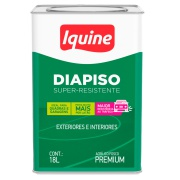 Tinta Acrílica Fosco Premium 18L - Branco - Delacryl Iquine