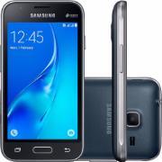 "Smartphone Samsung Galaxy J1 Mini Dual Chip Tela 4,0"" Quad Core 8GB 3G Wi-Fi Câmera de 5.0MP - Preto"