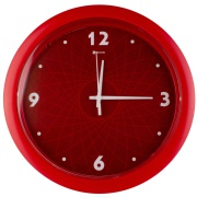 Imagem de  Relógio de Parede Master 30 cm Vermelho 1084 - Relobraz