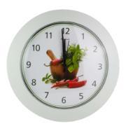 Imagem de  Relógio de Parede 27 cm Cozinha Spices 1036 - Relobraz