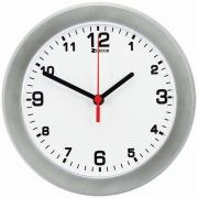 Imagem de  Relógio de Parede Tradicional 24 cm Prata e Branco 912 - Relobraz