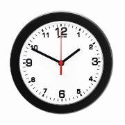 Imagem de  Relógio de Parede Tradicional 24 cm Preto e Branco 913 - Relobraz