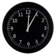 Imagem de  Relógio de Parede Tradicional 24 cm Preto 916 - Relobraz