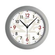 Imagem de  Relógio de Parede Office Modern 30 cm Prata 947 - Relobraz