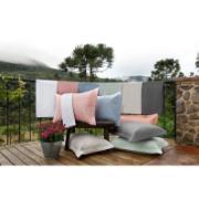 Imagem de Kit Cobre-Leito Queen + Porta Travesseiro 150 Fios Liso Cinza 9007 - Artex