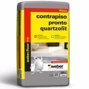 Argamassa Contrapiso Pronto Cinza 20kg - Quartzolit