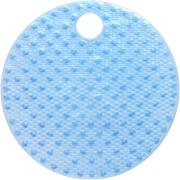 Tapete de Banheiro de PVC 55x55 cm Azul - Bianchini