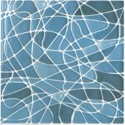 Revestimento de Parede Brilhante 1,11m² 15x15cm Azul Celeste - Incepa