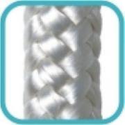 Imagem de Corda Multiuso de Poliéster 8,0mm x 10,0m Branca - Cordas Erval