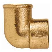 """Imagem de Cotovelo Bronze 15 mm x 1/2"""" - Eluma"""