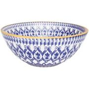 Imagem de Tigela Funda de Cerâmica Redonda La Carreta 600ml Azul - Oxford