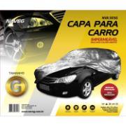 Capa Protetora para Carro Tamanho G 1,75 x 4,60m Impermeável Forrada - Naveg