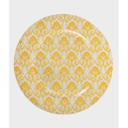 Imagem de Sousplat Redondo Plástico 33cm Amarelo 41264-005 - G.Presentes