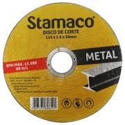 Imagem de Disco de Corte Óxido de Alumínio 115 x 1,6 x 20,00mm - Stamaco