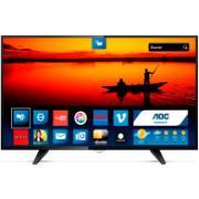"Smart TV LED 32"" Aoc HD LE32S5970 - Conversor Digital Wi-Fi 3 HDMI 2 USB"