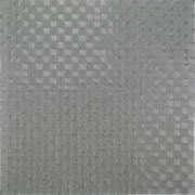 Imagem de Pastilha de Vidro Brilhante 1,0x1,0cm Cinza Claro - ML052C - Jolie