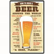 Imagem de Placa Decorativa em MDF 29x19 cm Beer 5080 - Cia Laser