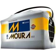 Bateria Automotiva 12V 100Ah Polo Positivo Direito M100QD MFA - Moura