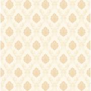 Papel de Parede Vinílico Texturizado Arabesco Branco 55017 - Jolie
