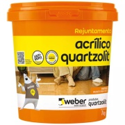 Rejunte Acrílico Marrom Café Balde/1kg - Quartzolit