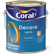 Tinta Acrílica Acetinado Premium 3,6L - Branco Neve - Acabamento Seda Coral