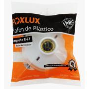 Plafon de Sobrepor Redondo 14cm Branco - Foxlux