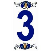 Número 3 Cerâmica - Gabriella